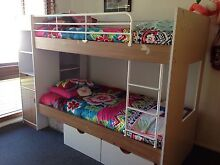 Single Bunk Bed with storage and mattresses. Singleton Heights Singleton Area Preview