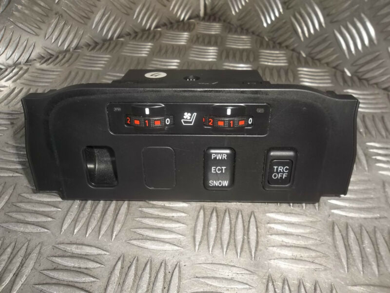 2006 LEXUS GS300 HEATED SEAT WITH TRC OFF PWR ECT SNOW SWITCH PANEL 58919-30040