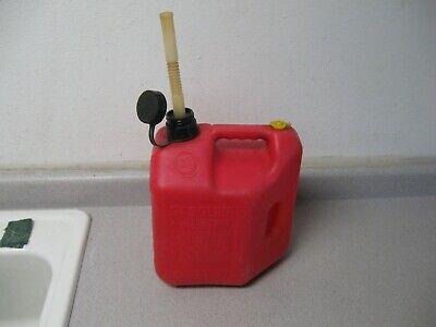 Blitz Pre Ban 2 Gallon 8 Oz Vented Gas Can Jug W Spout