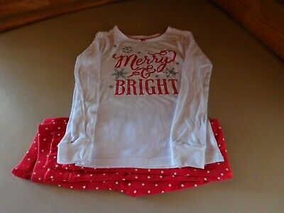 Girl's 2 Piece Size 8 Flame Resistant Sleepwear Clothing Carters Snug Fitting
