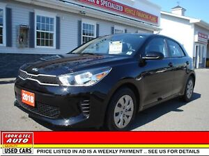 2018 Kia Rio 5-door We finance 0 money down & cash back* LX