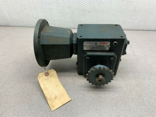 USED GROVE GEAR FLEXALINE 60:1 RATIO GEAR SPEED REDUCER BM1206-2