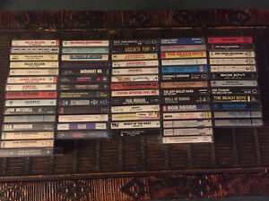Cassette Tapes (Various - 67 in total)
