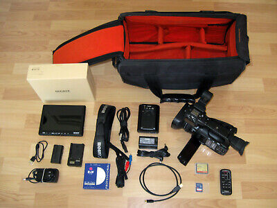 Canon XF100 HD Professional Camcorder w/extras