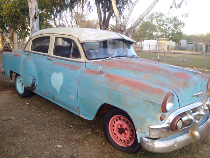 EXTREMELY RARE Complete 1953 Chevrolet Sedan Right hand DR