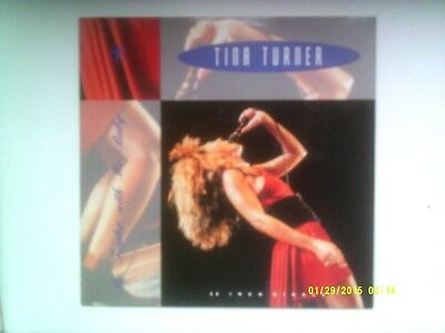 "TINA TURNER BE TENDER WITH ME BABY 12"" SINGLE 1989 EXCELLENT"