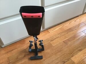 """LP Cowbell 8"""" with Pearl Foot Pedal Mount"""