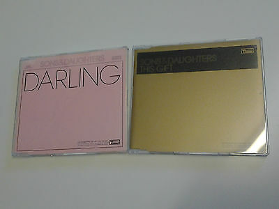Joblot of 2 x Sons & Daughters Promo CD's - This Gift / Darling (Bernard Butler)