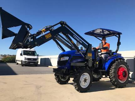 2017 Trident 35HP tractor, 4WD + 4 in 1 Bucket Lonsdale Morphett Vale Area Preview