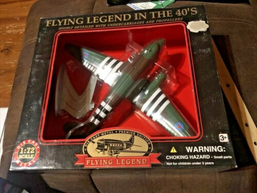 WWII Military plane model 1:72 DIECAST Flying Legend on the 40s Z20B