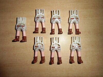 Playmobil Piernas, Soldados, Nordistas, Medieval, jambes Playmobil