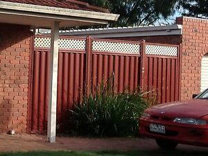 Colourbond fence and gate Werribee Wyndham Area Preview