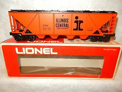 Lionel 6-9264 Illinois Central Covered four bay hopper car -- O gauge - New w bx