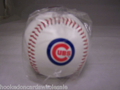 1 Chicago Cubs Team Logo Ball MLB Baseball - Chicago Cubs Logo Ball