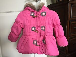 Winter coat for baby girl, size 1T