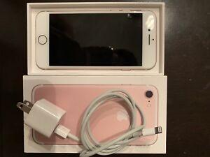 Iphone 7 rose gold 430 NEGOCIABLE