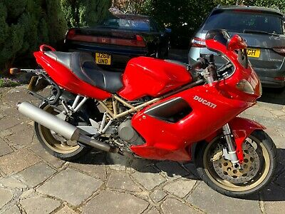 1998 Ducati ST2 Beautiful one-owner, well maintained V-Twin Sports Tourer