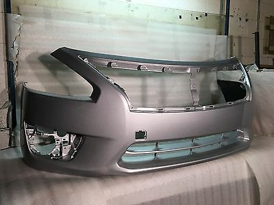 13 14 15 NISSAN ALTIMA FRONT BUMPER GENUINE OEM PAINTED SILVER 620223TA0H