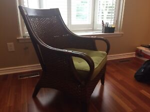 Wicker chair. Mint conditions, no used