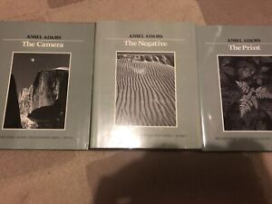 Vintage Ansel Adams photography books