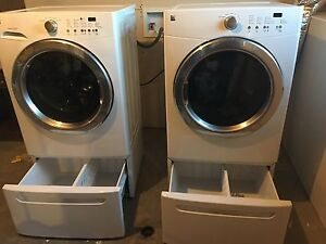 Kenmore Washer and Dryer with 3 year Warrenty