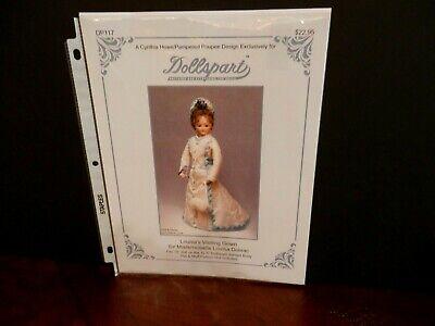 Pattern For Antique/Reproduction  Huret Dolls