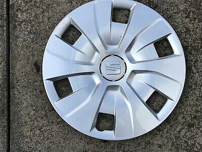 Seat Ibiza 14 Stylish Black Blue Rim Wheel Cover Hub Caps x4