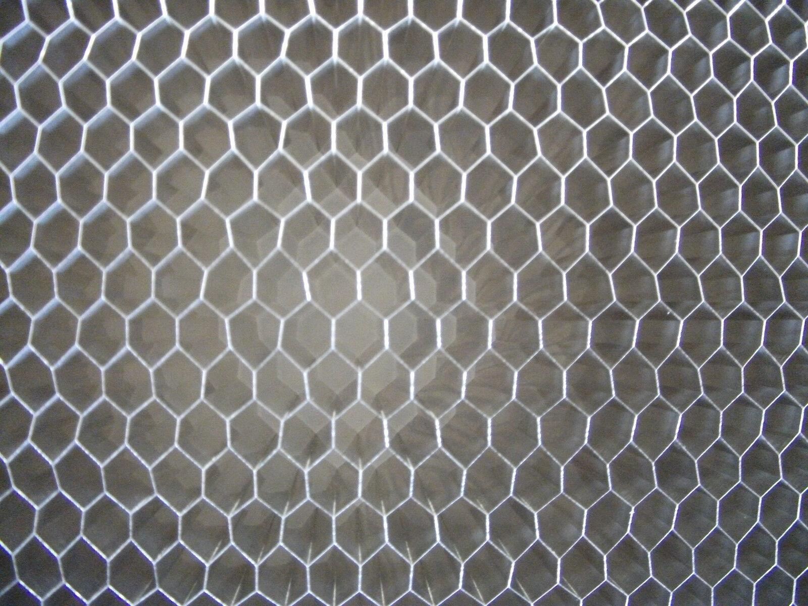 "T=.500/"" 1//4 Cell Aluminum Honeycomb Sheet // Honeycomb Core Grid 24/""x24/"""