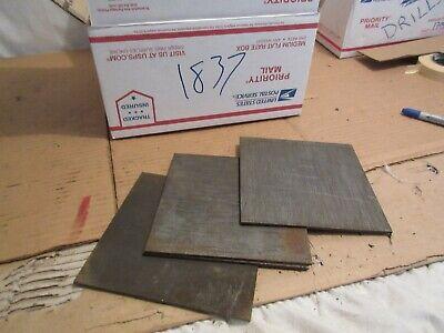 4130 Steel Plate 18 6 X 6 Inch 4 Pcs
