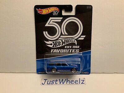 2018 Hot Wheels 50th Anniversary Favorites '71 Datsun Bluebird 510 Wagon MONMC