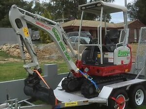 Excavator & Operator Hire Servicing all areas of Perth Padbury Joondalup Area Preview