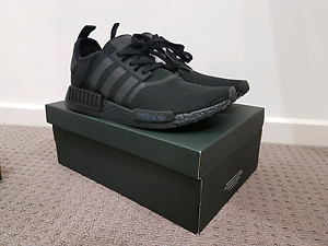 TRIPLE BLACK NMD US10.5 US11 Adelaide CBD Adelaide City Preview