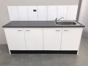 Kitchen cupboard sink and mixer Grovedale Geelong City Preview