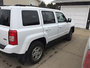 2014 White Jeep Patriot North Edition 2.4L 4x4