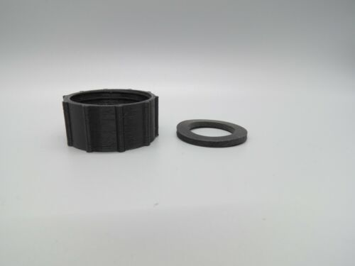 3M Respirator to 40mm NATO Filter Can Adapter 3M 6000 - 7000 series Made of PETG