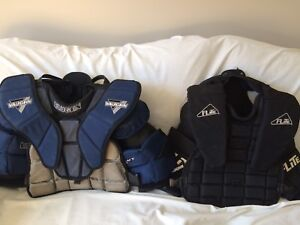 Vaughn Legacy 6060 & Flite Goalie Chest Protector Junior Small/M