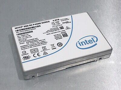 SSDPE2KX040T7 Intel DC P4500 Series 4TB TLC PCIe 3.1 x4 NVMe WTY 2022 Low Hours