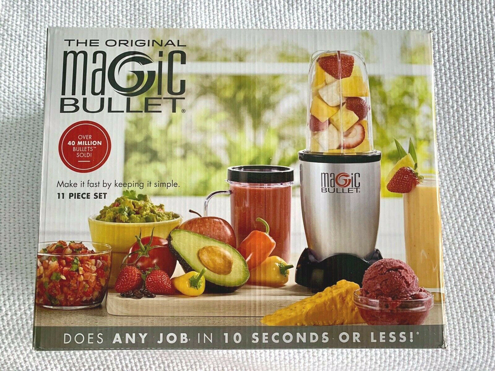 Magic Bullet 11-Piece Set Nutri-Blender