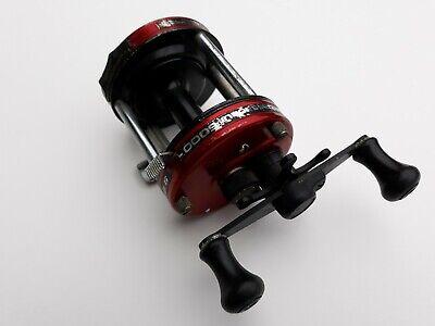 ABU GARCIA AMBASSADEUR 6000 RED  FISHING REEL (SWEDEN)