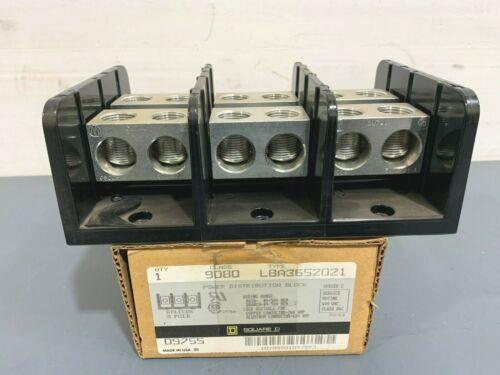 New Square D 9080 LBA3652021 Power Distribution Block