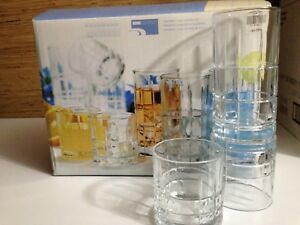 Brand New 16-Piece Glassware