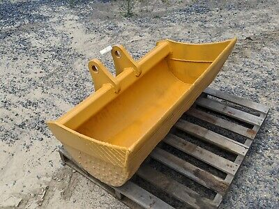 48 Cp Backhoe Loader Smooth Cleanout Bucket Fits John Deere 310sg 410g Machine