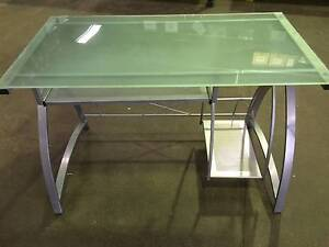 Glass Ikea Desk Kogarah Rockdale Area Preview