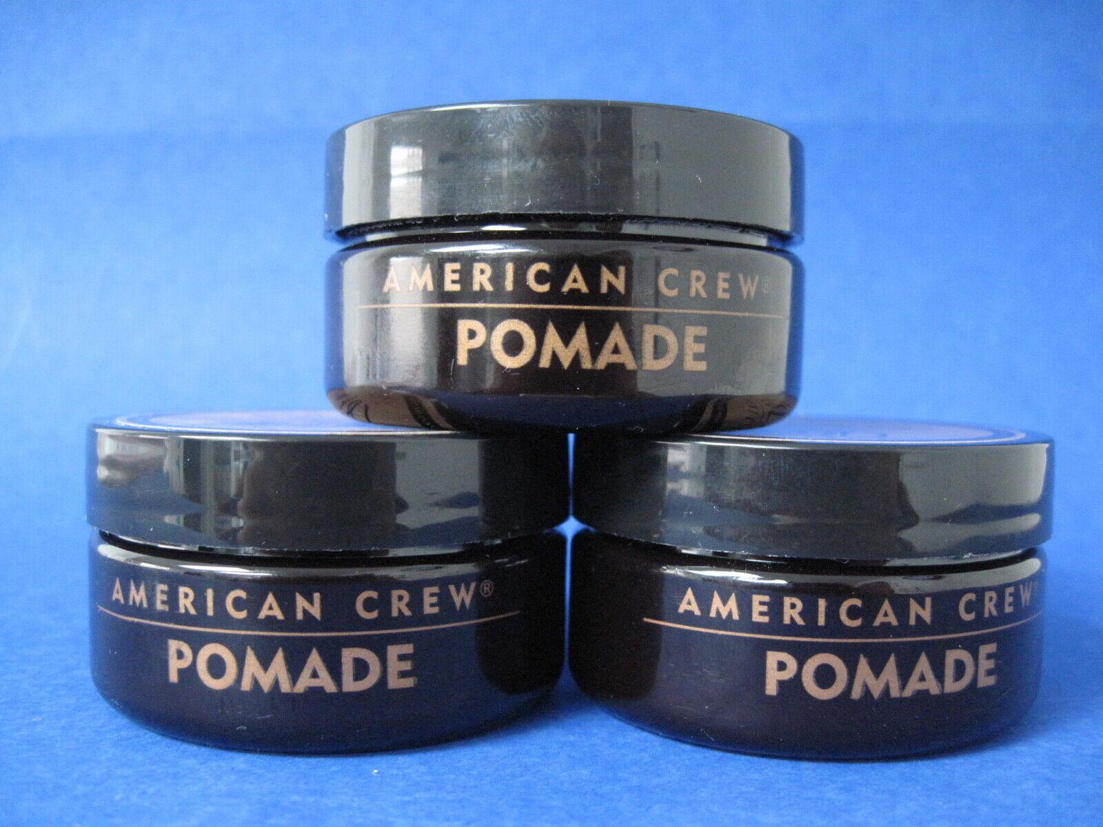 American Crew Pomade 1.75 oz Lot of 3