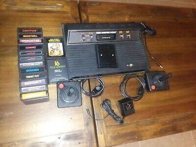 Atari 2600 Video Game Console Lot