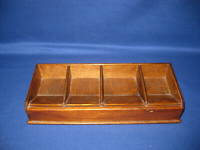 Vintage 1940s Wooden Desk Tray