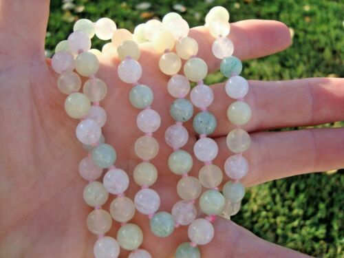 HEAVY POSSIBLY JADE STONE BEAD ?? NOT TESTED. SOLD AS IS - UNKNOWN-NECKLACE