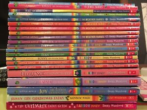 Lot of Rainbow Magic Fairy books