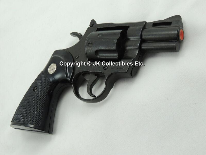 """Replica Colt Python .357 Magnum Pistol Revolver Prop Gun 2"""" Barrel"""