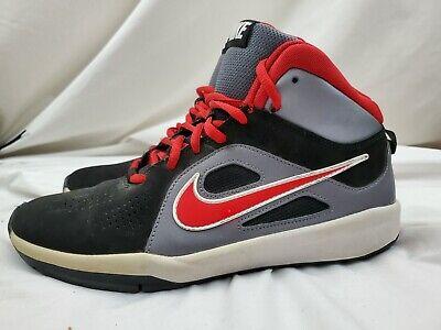 Boys NIKE Team Hustle D 6  Basketball Shoes Size 7Y Big Kids (599187-006)